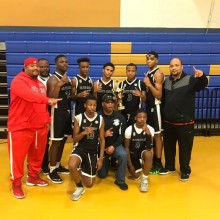 Elite Heat 8th grade champions