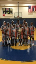 North Mississippi Warriors 5th grade champions